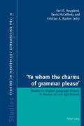 'Ye whom the charms of grammar please'
