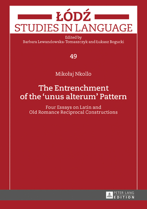 The Entrenchment of the «unus alterum» Pattern