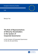 The Role of Representatives of Minority Shareholders in the System of Corporate Governance