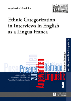 Ethnic Categorization in Interviews in English as a Lingua Franca