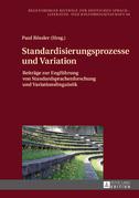 Standardisierungsprozesse und Variation