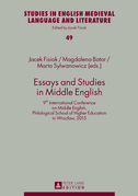 Essays and Studies in Middle English