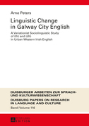 Linguistic Change in Galway City English