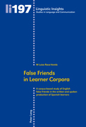 False Friends in Learner Corpora