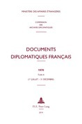 Documents diplomatiques français