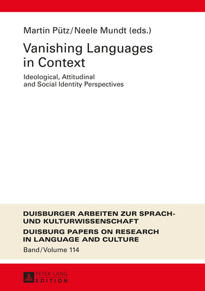 Vanishing Languages in Context