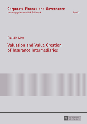 Valuation and Value Creation of Insurance Intermediaries