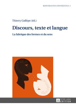 Discours, texte et langue