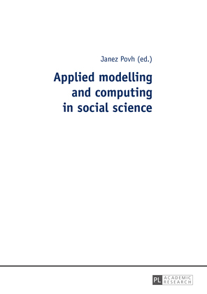Applied modelling and computing in social science