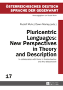 Pluricentric Languages: New Perspectives in Theory and Description