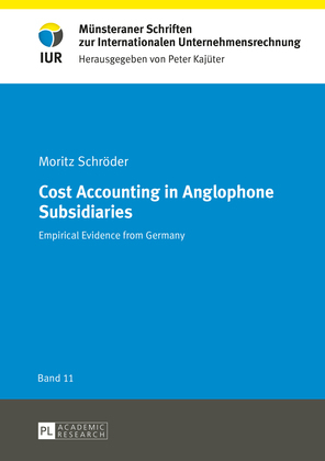 Cost Accounting in Anglophone Subsidiaries