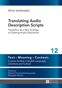 Translating Audio Description Scripts