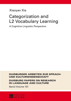 Categorization and L2 Vocabulary Learning