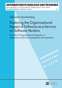 Exploring the Organizational Impact of Software-as-a-Service on Software Vendors