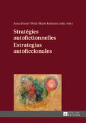 Stratégies autofictionnelles- Estrategias autoficcionales