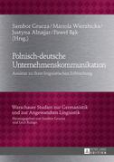 Polnisch-deutsche Unternehmenskommunikation