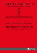 Interlinguale Paronyma