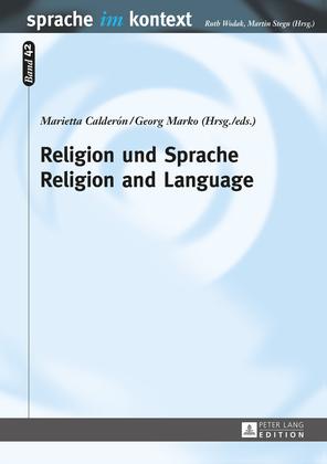 Religion und Sprache- Religion and Language