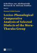 Lexico-Phonological Comparative Analysis of Selected Dialects of the Meru-Tharaka Group