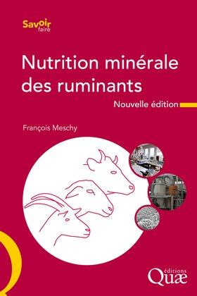 La nutrition minérale des ruminants