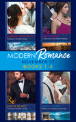 Modern Romance Collection: November 2017 Books 1 - 4 (Mills & Boon e-Book Collections)