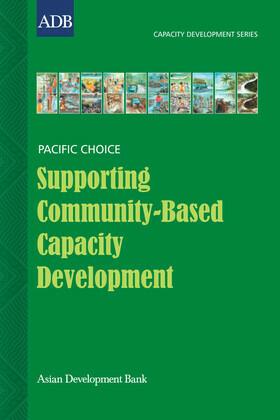 Supporting Community-Based Capacity Development