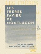 Les Frères Favier de Montluçon - Deux volontaires de 1791