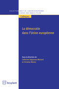 La démocratie dans l'Union européenne