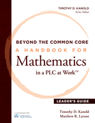 Beyond the Common Core [Leader's Guide]