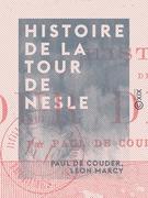Histoire de la tour de Nesle