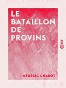 Le Bataillon de Provins - Siège de Paris, 1870-1871 : récit d'un garde mobile