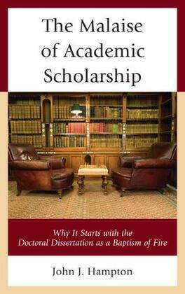 The Malaise of Academic Scholarship