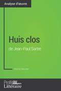 Huis clos de Jean-Paul Sartre (Analyse approfondie)
