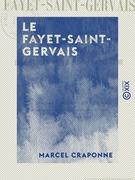 Le Fayet-Saint-Gervais - Indication de ses eaux et de son climat dans le traitement de l'eczéma et du neuro-arthritisme
