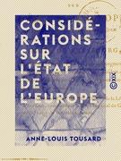 Considérations sur l'état de l'Europe - Sur les résultats qui peuvent naître du traité de Presbourg
