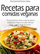 Recetas Para Comidas Veganas