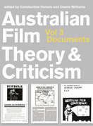 Australian Film Theory and Criticism Vol 3