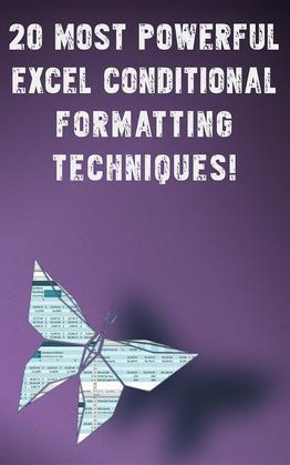 20 Most Powerful Excel Conditional Formatting Techniques!