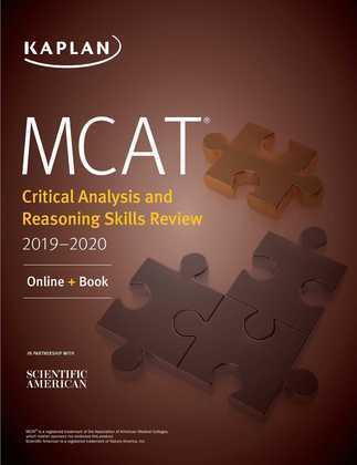 MCAT Critical Analysis and Reasoning Skills Review 2019-2020