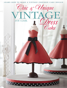 Chic & Unique Vintage Dress Cake