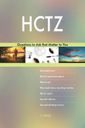 HCTZ 627 Questions to Ask that Matter to You
