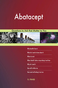 Abatacept 627 Questions to Ask that Matter to You