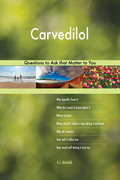 Carvedilol 493 Questions to Ask that Matter to You