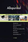 Allopurinol 603 Questions to Ask that Matter to You