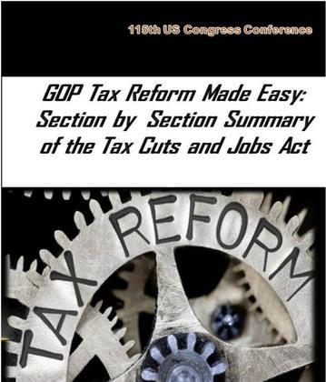 GOP Tax Reform Made Easy