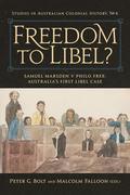 Freedom to Libel? : Samuel Marsden v. Philo Free