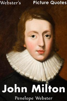 Webster's John Milton Picture Quotes