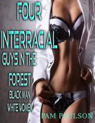 Four Interracial Guys in the Forest