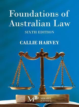Foundations of Australian Law