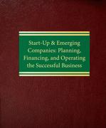 Start-Up & Emerging Companies